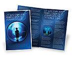 Education & Training: Public Aquarium Brochure Template #03758