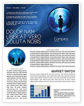 Public Aquarium Newsletter Template