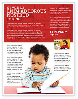 Education & Training: Kid Learning Flyer Template #03759