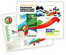 General: Rainbow Socks Brochure Template #03760