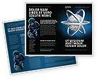 3D: Atom Model Brochure Template #03763