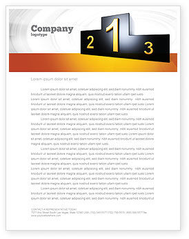 Business Concepts: Winner Place Letterhead Template #03765