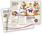 Education & Training: Modèle de Brochure de mosaïque #03766