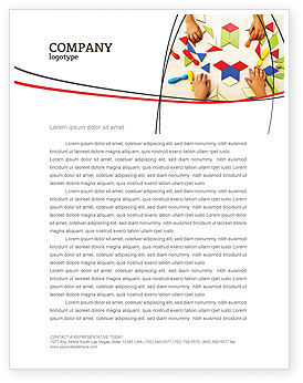 Education & Training: Mosaic Letterhead Template #03766