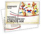 Education & Training: Mosaic Postcard Template #03766