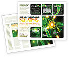 Medical: Nerve Brochure Template #03777