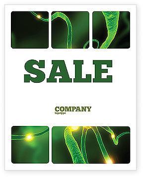 Nerve Sale Poster Template, 03777, Medical — PoweredTemplate.com