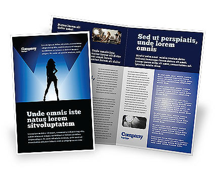 Fashion show brochure template design and layout download for Fashion brochure template