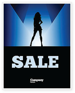 Fashion Show Sale Poster Template