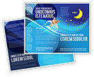 Abstract/Textures: Starry Night Brochure Template #03794