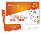 Education & Training: Elementary School Postcard Template #03795