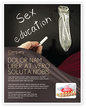 Education & Training: Sex Education Flyer Template #03797