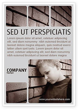 Consulting: Weeshuis Advertentie Template #03798