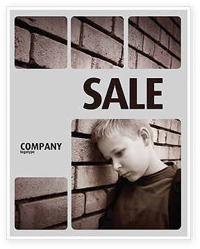 Consulting: Orphanage Sale Poster Template #03798