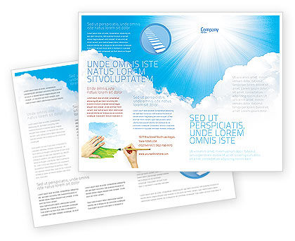 Nature & Environment: Heaven Brochure Template #03799