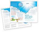 Nature & Environment: Heaven Brochure Template #03799