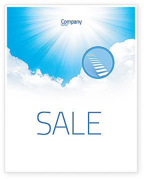 Nature & Environment: Heaven Sale Poster Template #03799