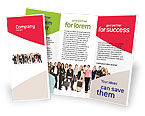 People: Business Ladies Brochure Template #03813
