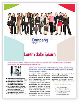 People: Modèle de Flyer de business ladies #03813