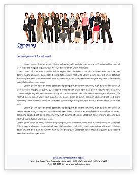 People: Geschäftsdamen Briefkopf Vorlage #03813
