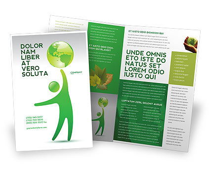 Nature & Environment: Eco-World Brochure Template #03820
