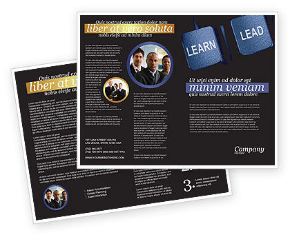 Business: MBA Brochure Template #03828
