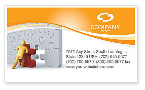 Business: Missing Part Completing Business Card Template #03829