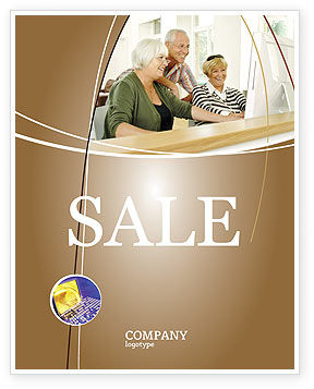 Age and Technology Sale Poster Template