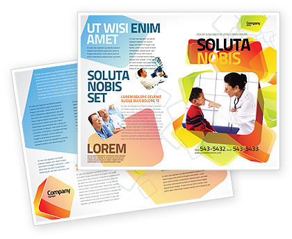 Medical: Paediatrist Brochure Template #03835