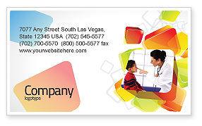 Paediatrist Business Card Template