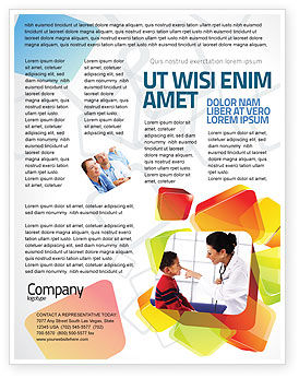 Medical: Paediatrist Flyer Template #03835