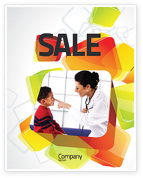 Paediatrist Sale Poster Template