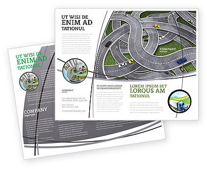 Highway Junction Brochure Template