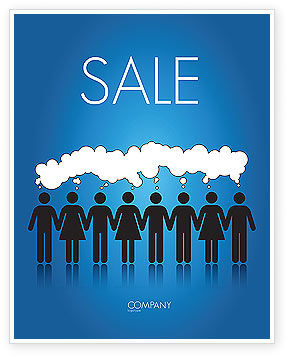 Mental Area Sale Poster Template, 03839, Business Concepts — PoweredTemplate.com