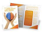 Consulting: Cerebral Hemispheres Brochure Template #03840