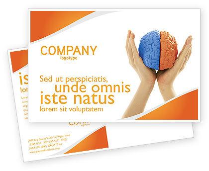 Consulting: Modello Cartolina - Emisferi cerebrali #03840