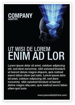 Technology, Science & Computers: 광고 템플릿 - 디지털 메모리 #03844