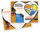Education & Training: Hands Of Unity Brochure Template #03846