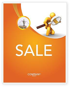 Particulars Sale Poster Template, 03847, 3D — PoweredTemplate.com