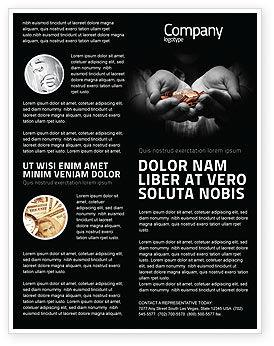 Money Flyer Template, 03850, Financial/Accounting — PoweredTemplate.com