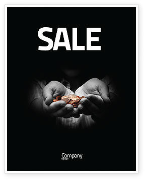 Financial/Accounting: Money Sale Poster Template #03850