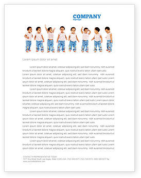 Baby Emotions Letterhead Template
