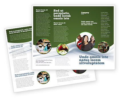 Education & Training: Hard Learning Brochure Template #03854