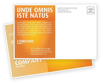 Team Postcard Template, 03855, Business Concepts — PoweredTemplate.com