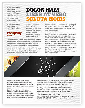 Business Concepts: Templat Flyer Ide Cemerlang #03860