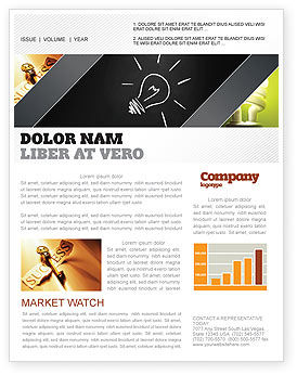 Brilliant Idea Newsletter Template