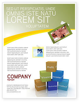 Business: Templat Flyer Penelitian Pemasaran #03865