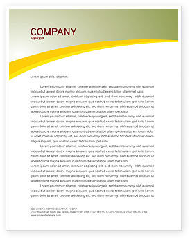 Business: Marketing Research Letterhead Template #03865