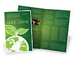Nature & Environment: Green Planet Brochure Template #03867