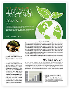 Nature & Environment: Green Planet Newsletter Template #03867